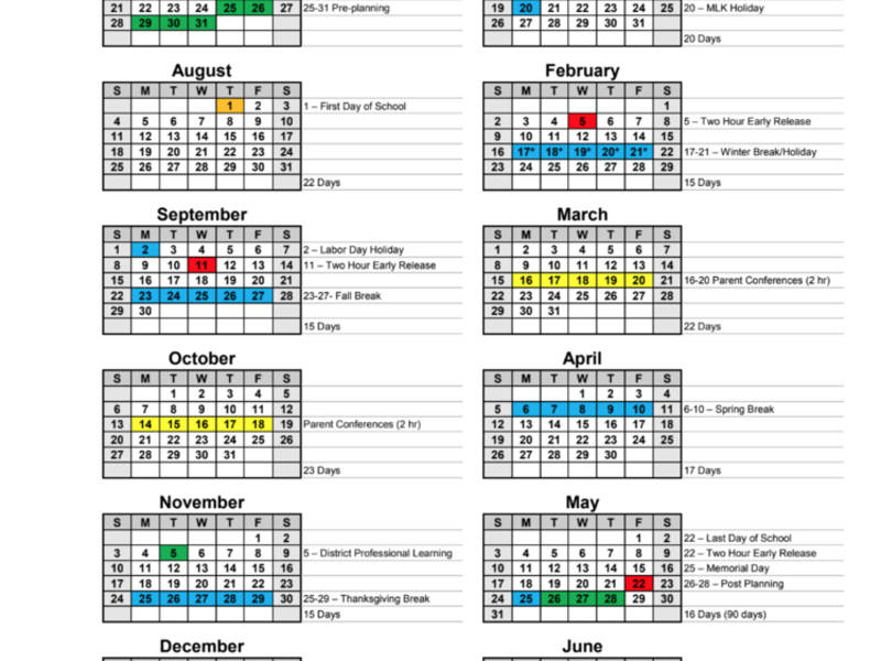Paulding Approves Calendars For 2019 2020, 2020 2021 With Board Of Education Calendar 2021 2020 Bibb County