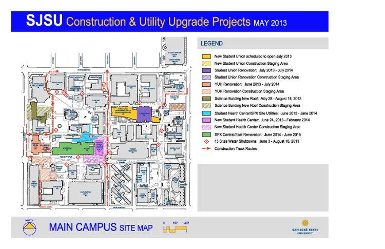 Pdc Active Construction Projects | Facilities Development intended for San Jose University Calendar