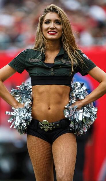 Pinfootballlover On Tampa Bay Buccaneers   Buccaneers In Buccaneers Cheerleaders Women 2020 In A Bikini