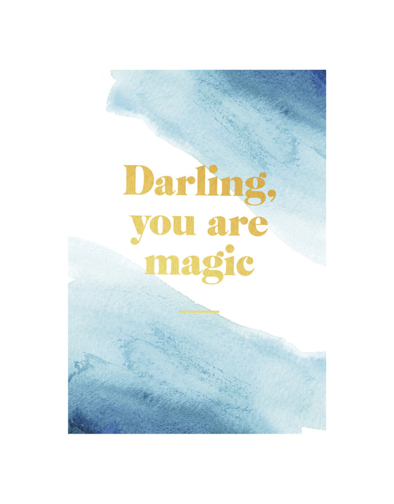 Postcard - Darling You Are Magic - Jelly Jazz With Regard To Extra Magic Hours Calendar 2021