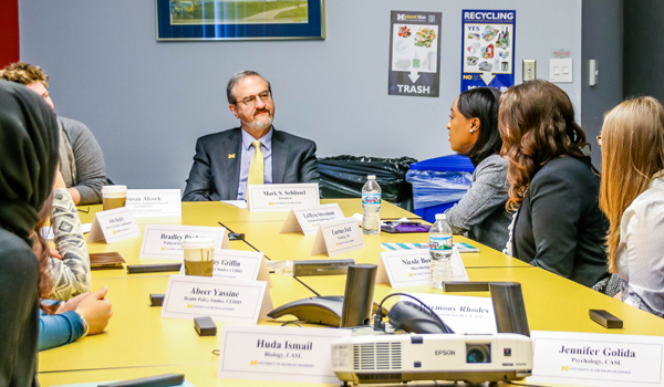 President Schlissel Talks About Campus Opportunities Within U Of M Dearborn Academic Calander