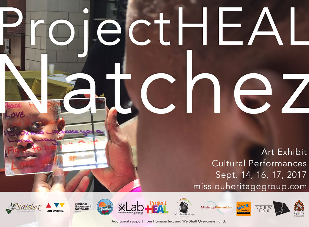 Project Heal Natchez - Mississippi Humanities Council in Natchez Mississippi Calendar Of Events