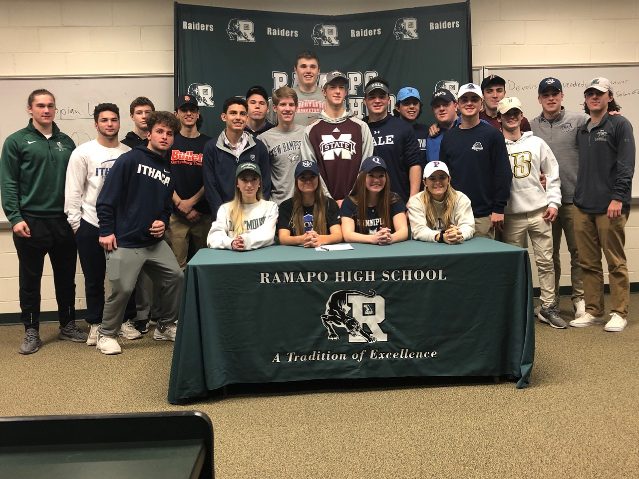Ramapo Class Of 2019 College Signing Day Ceremony – Rhs In Franklin Central High School Calendar