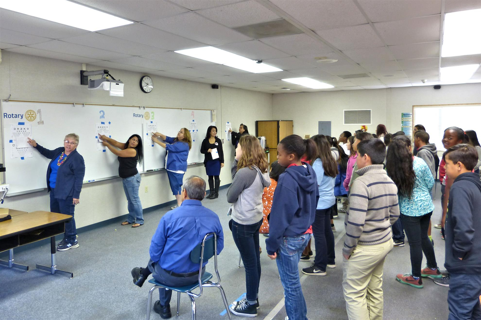 Rotary Club Of Bellflower & Vision To Learn Together Again Inside Bellflower Unified School Calendar