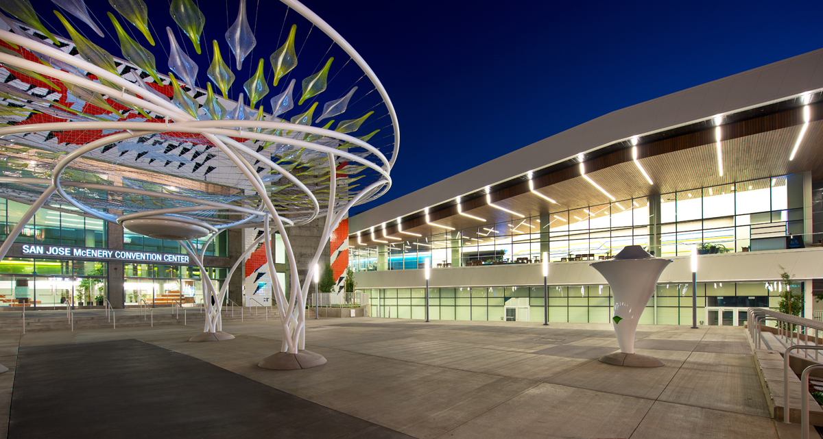 San Jose Mcenery Convention Center Named Best High Tech Venue Intended For San Jose Convention And Event Calander