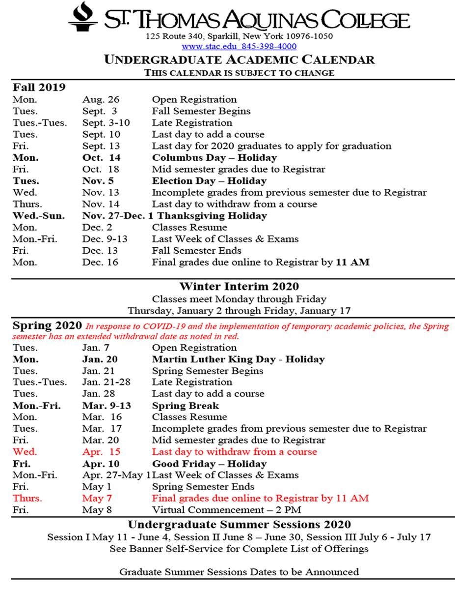 Santa Monica College Academic Calendar   Printable Inside Davidson County Tn Schools Calendar 2021 20