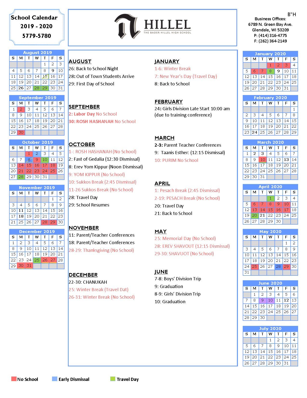School District 93 Calendar For 2020  2021   Printable Inside Smithtown School Calendar 2021 20