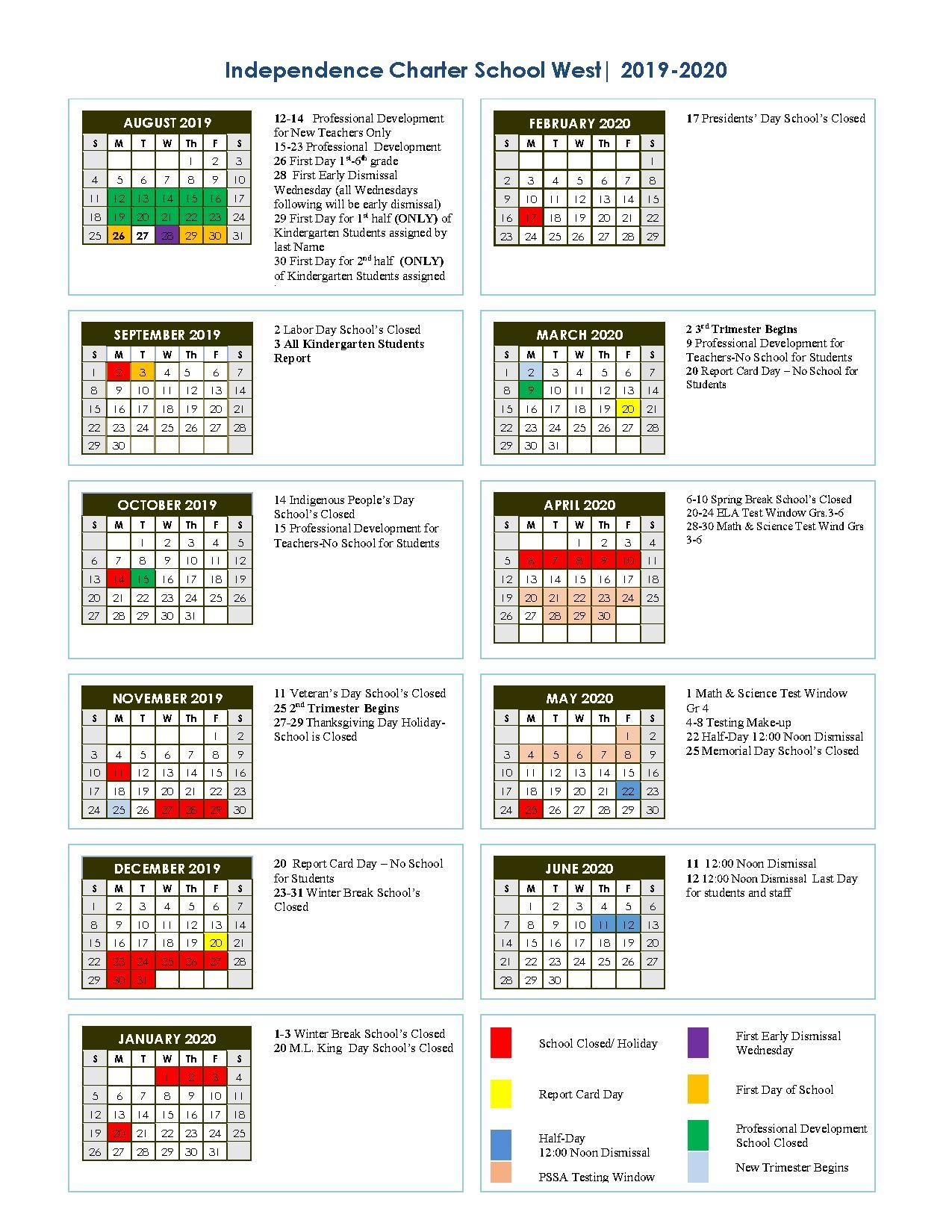 School District Of Philadelphia Calendar 2020 | Exam Calendar Inside Berkeley County School District Calendar 2021