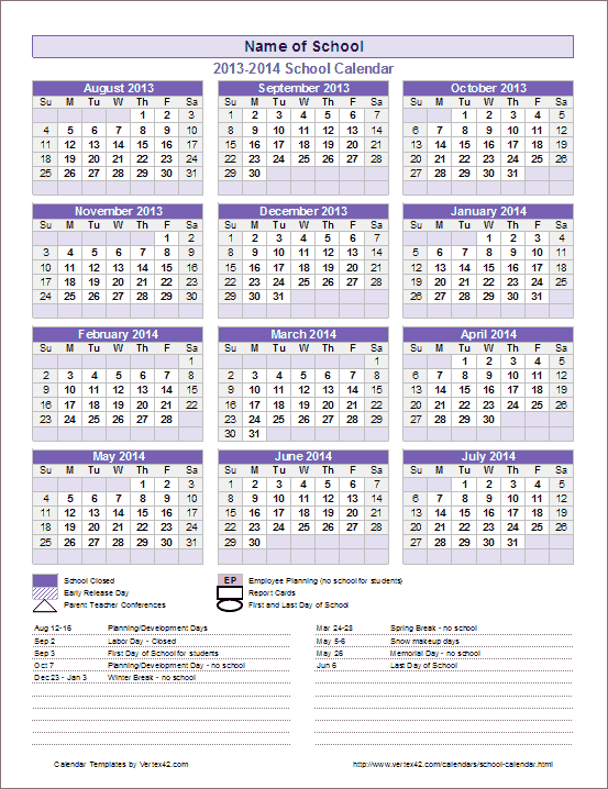 School Year Calendar Free – You Calendars Inside What Is A Sample Year Round School Schedule