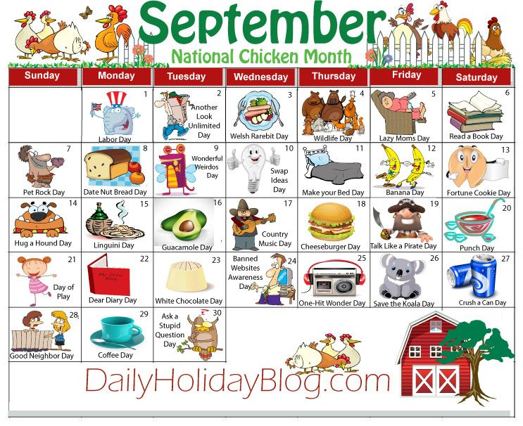 Sept Calendar 743×606 Pixels   National Holiday Inside Things To Do In Atlanta Monthly Calendar