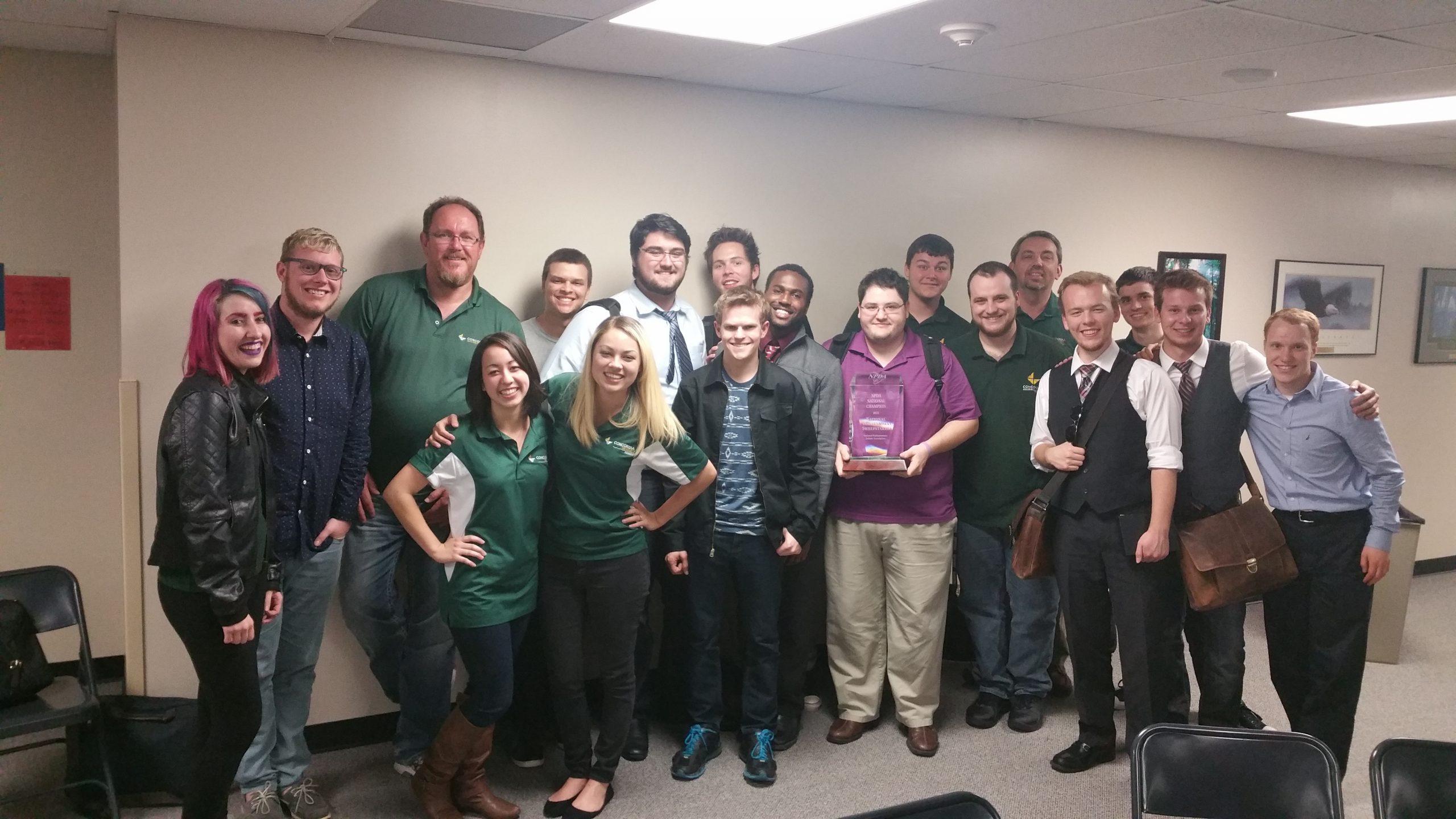 Sjc Student Helps Concordia Earn Top Debate Title   The Within Concordia University Irvine School Calendar