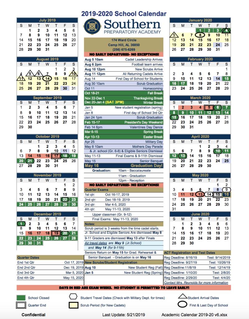 Southeastern University Academic Calendar In University Of Akron Academic Calendar 2020
