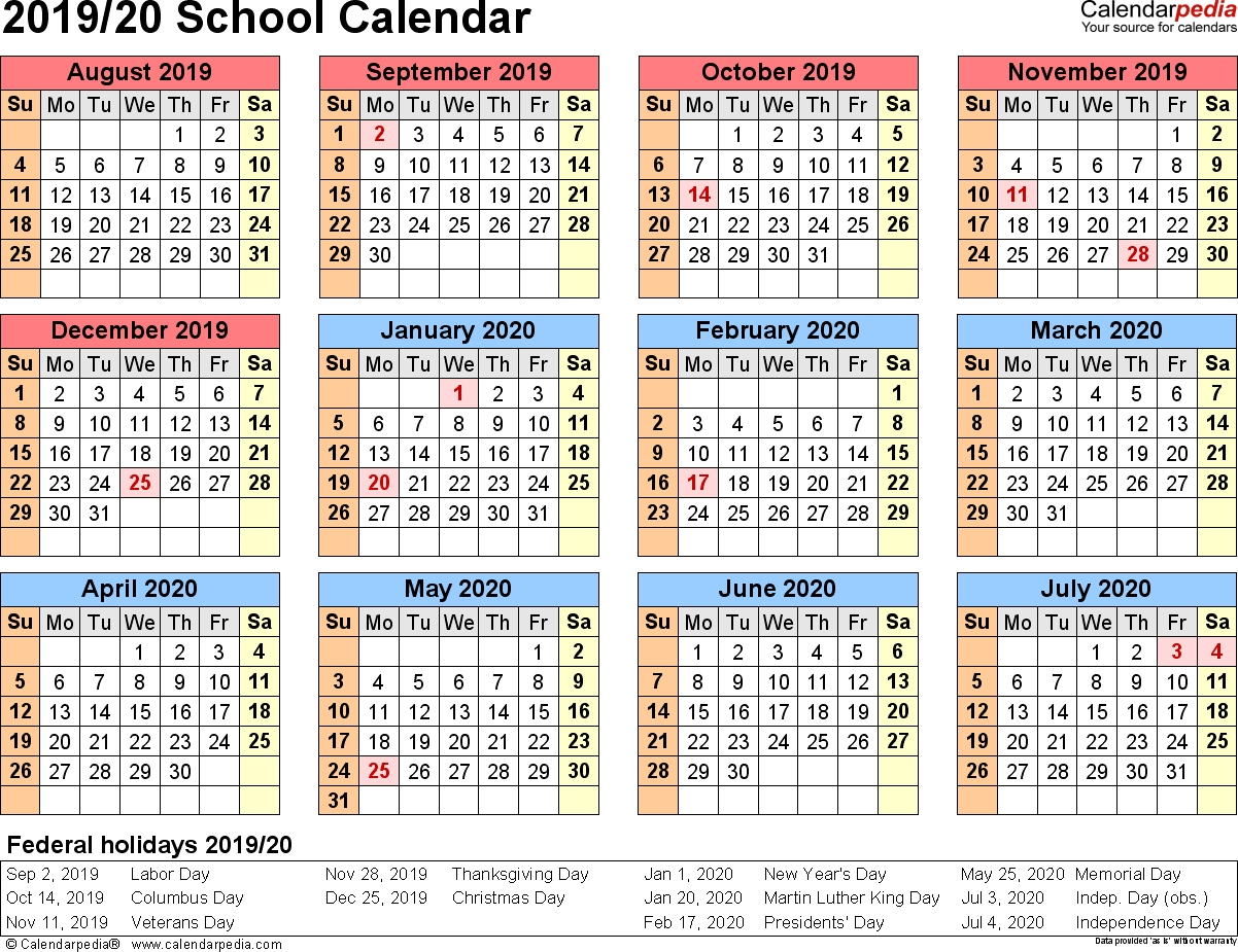 Special Days In The School Year 2019 2020 – Calendar With Woodbridge Township School District Student Calender2021 2020 School Year
