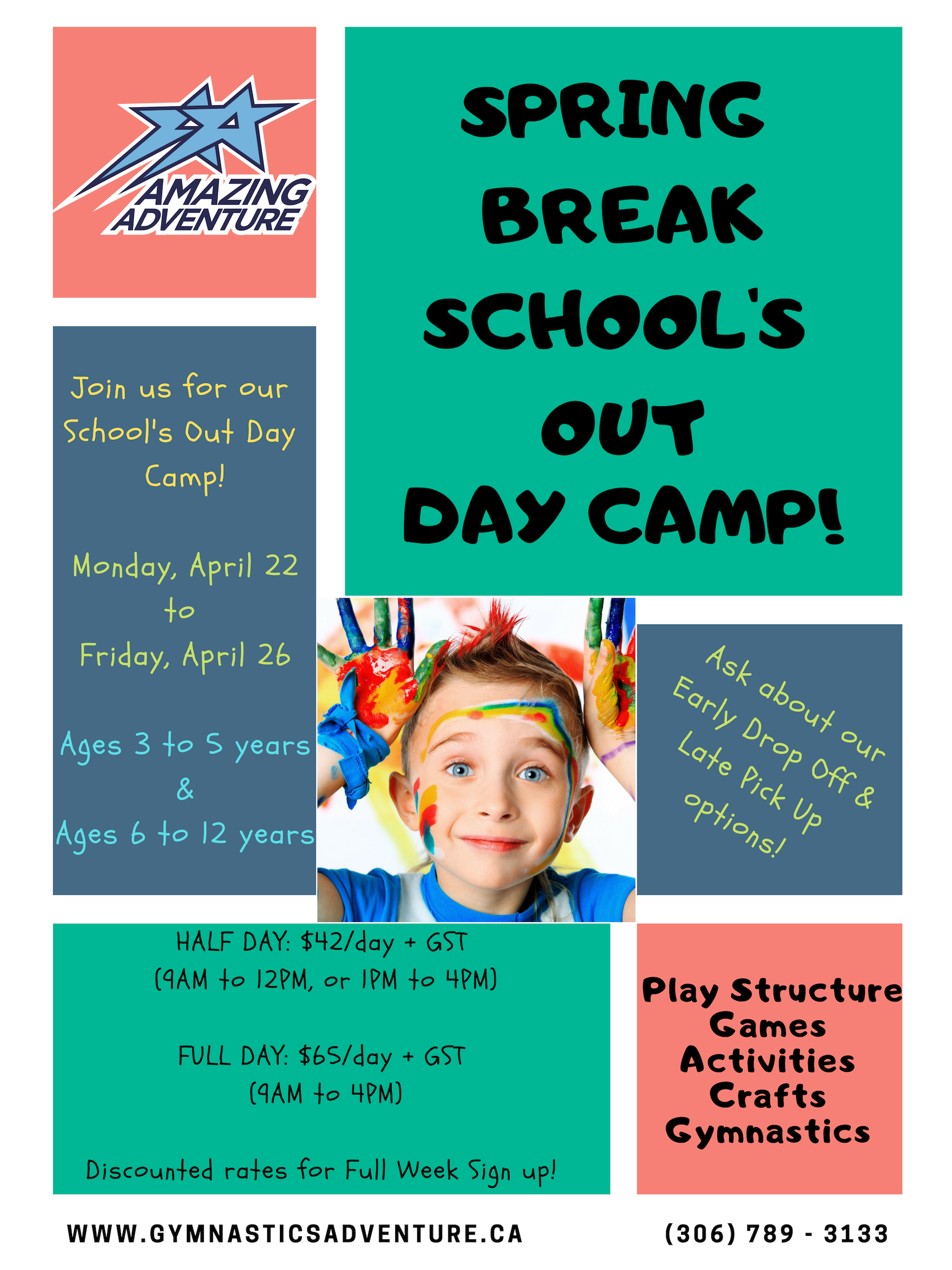 Spring Break Schools Out Daycamp | Amazing Adventure Inside Spring Break For Nooristown School