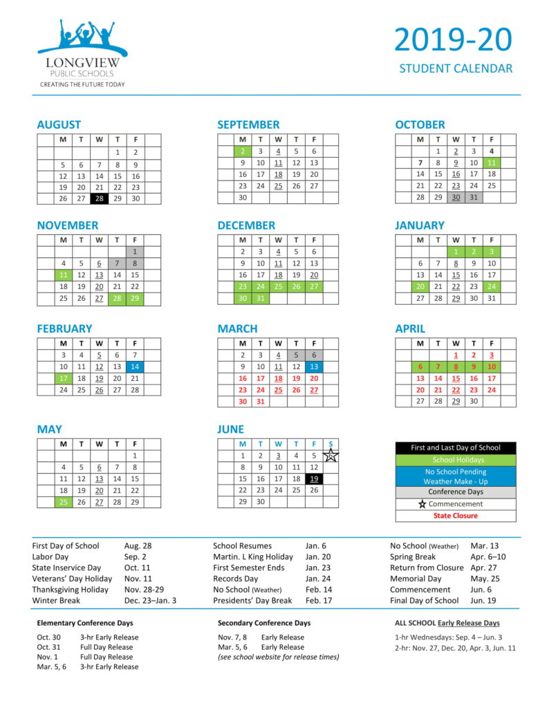 St Helens School District Calendar | Printable Calendar Regarding Fayette County Georgia School Calendar 2021 20