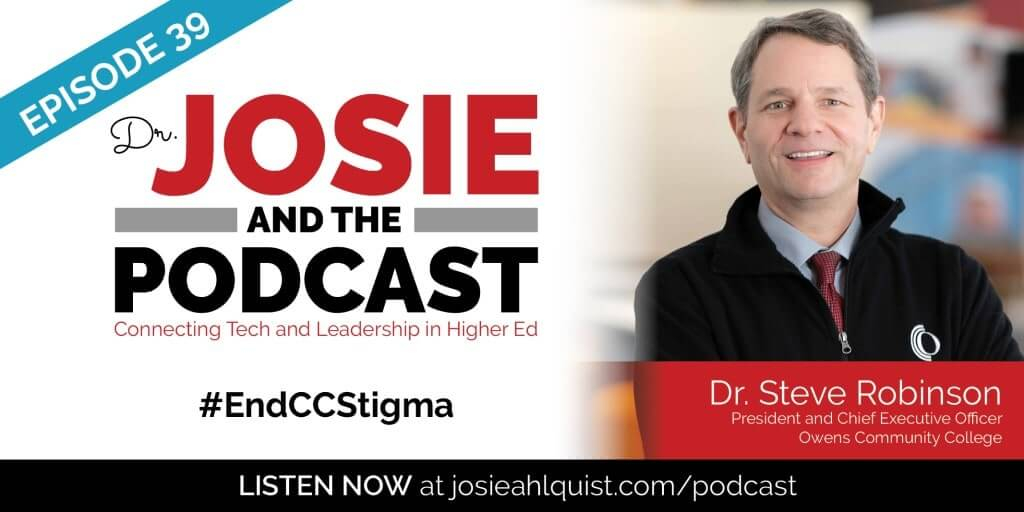 Steve Robinson // #Endccstigma – Josie Ahlquist Regarding Owens Community College Calendar