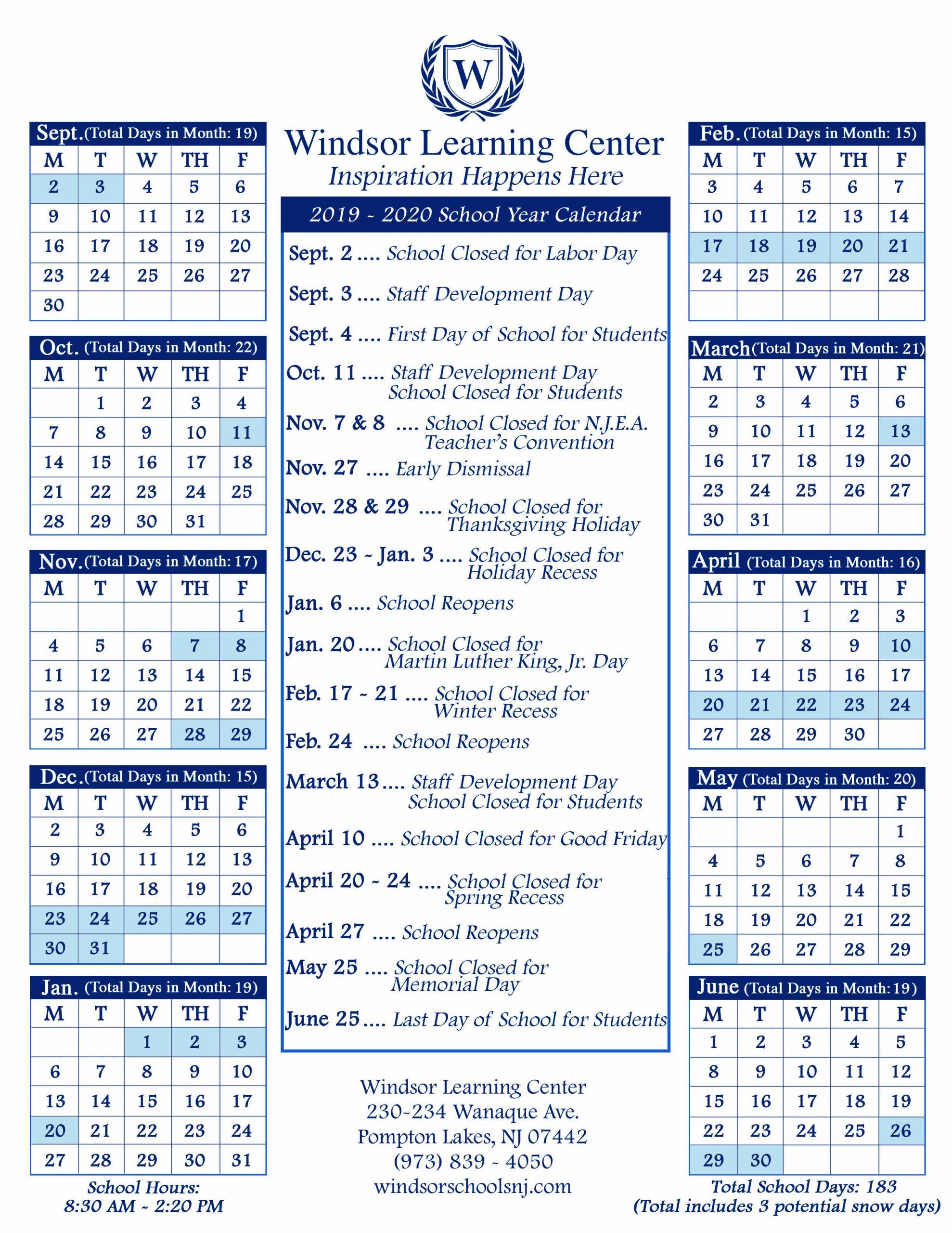 Stroudsburg Public School Calendar | Printable Calendar Within Las Cruces Public Schools Calendar 2021 2020