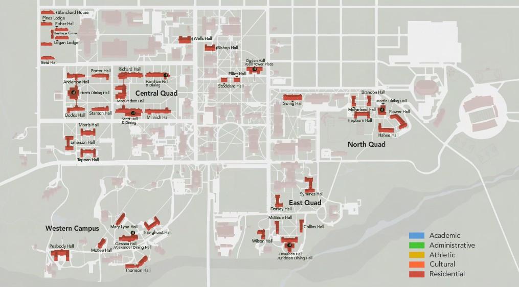 Student Housing & Dining Masterplan | Case Studies | Champlin For Miami University Of Ohio 2021 20 Academic Calendar
