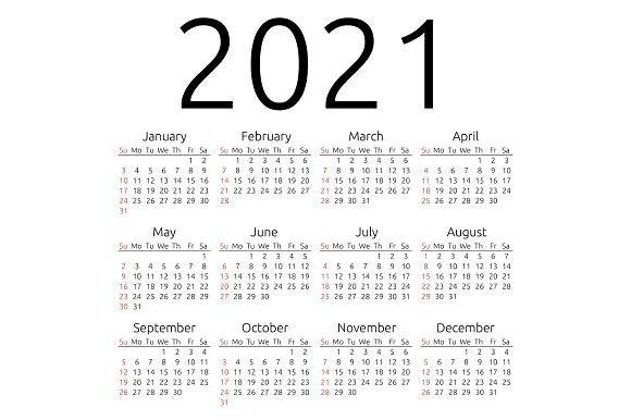 Sunday Calendar 2021   2021 Calendar Regarding Collin College Semester Calendar