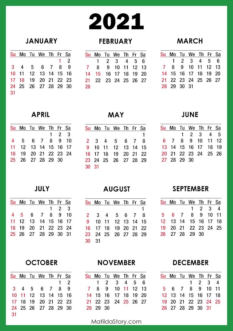 Sunday Calendar 2021   2021 Calendar Throughout Collin College Semester Calendar