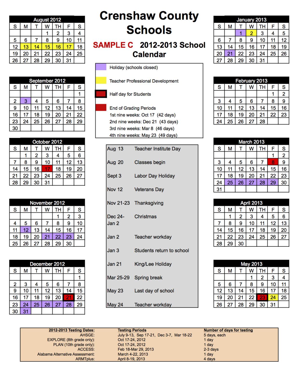 Superintendent'S Corner: New School Calendar Inside Academic Year University Of Rhode Calendar
