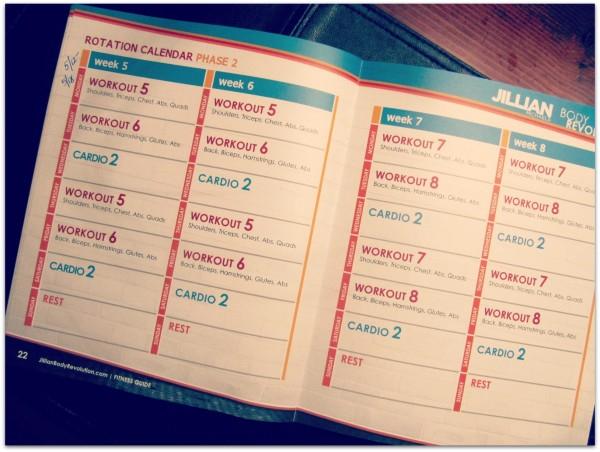 Swimming Training Plans: Meant To Be Broken? For Jilian Michaels Body Revolution Calendar
