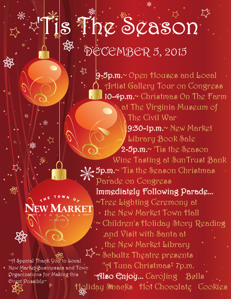 'Tis The Season Holiday Celebration & Parade   The Town Of Within Add Seasons To Google Calendar