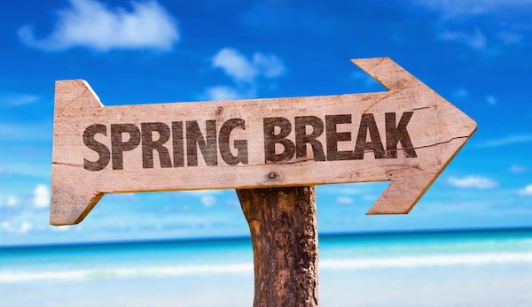 Top 5 Florida Spring Break Destinations For College Intended For When Is University Of Akron Spring Break 2020