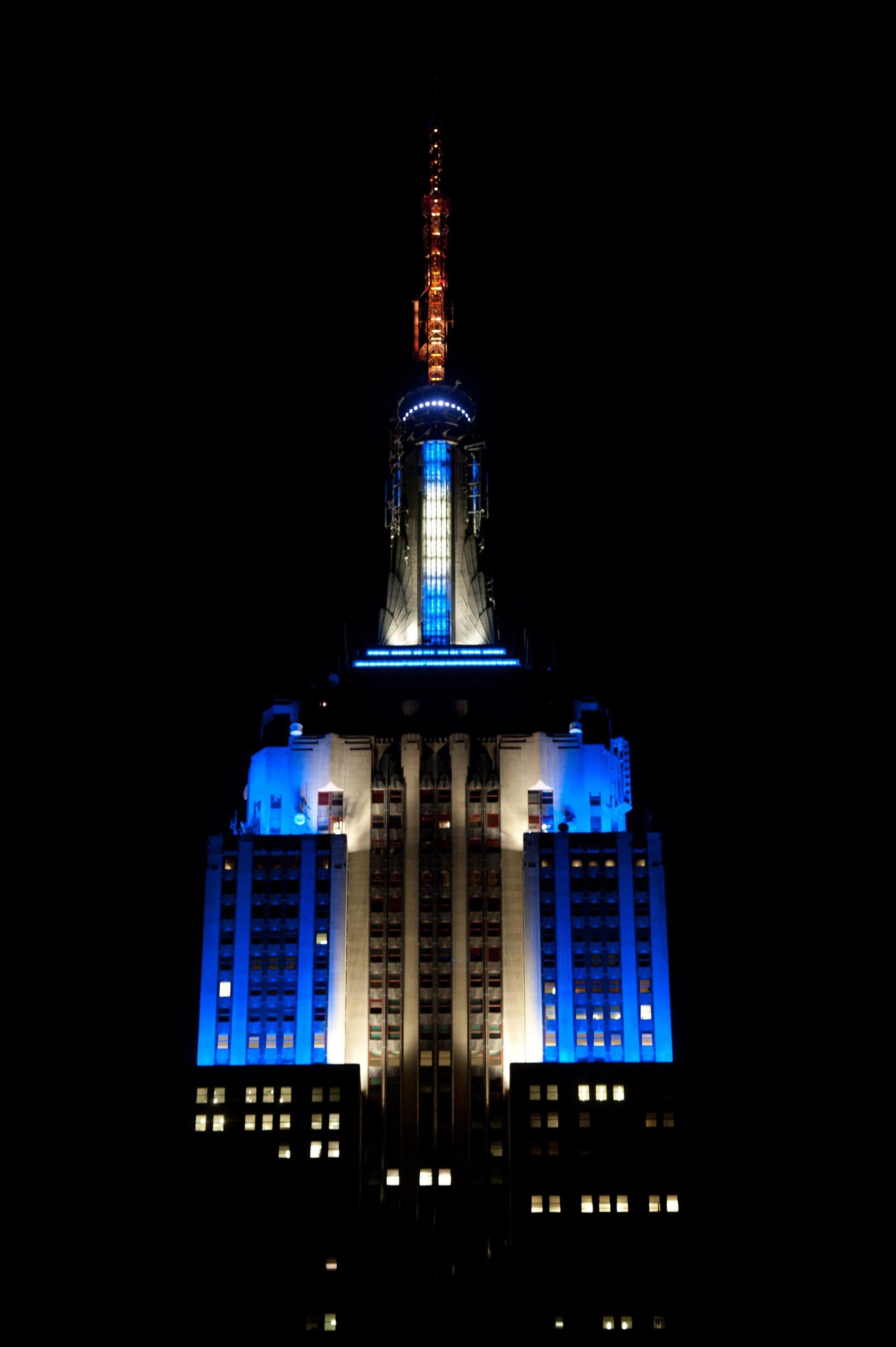 Tower Lighting 2015 12 06 00:00:00 | Empire State Building Regarding Empire State Building Lights Schedule