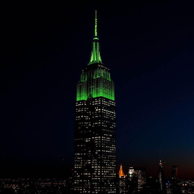 Tower Lighting 2019 05 13 00:00:00 | Empire State Building Intended For Empire State Building Lights Schedule