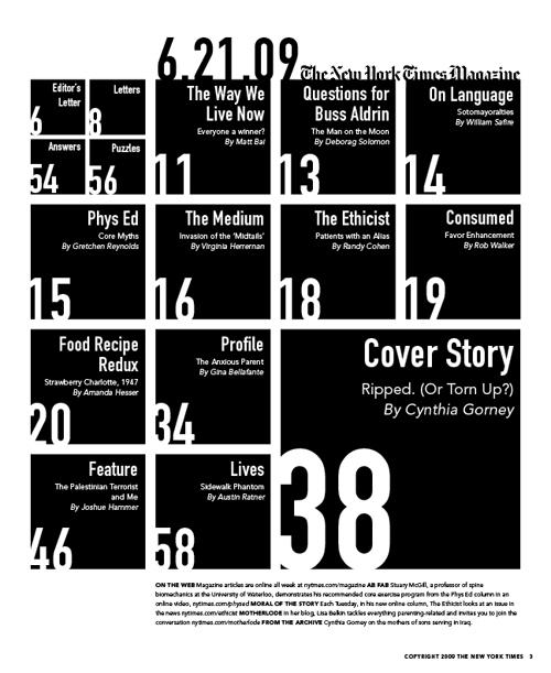 Typography Iii Magazine Spread – Karen Kavett With The New Yorker Editorial Calendar