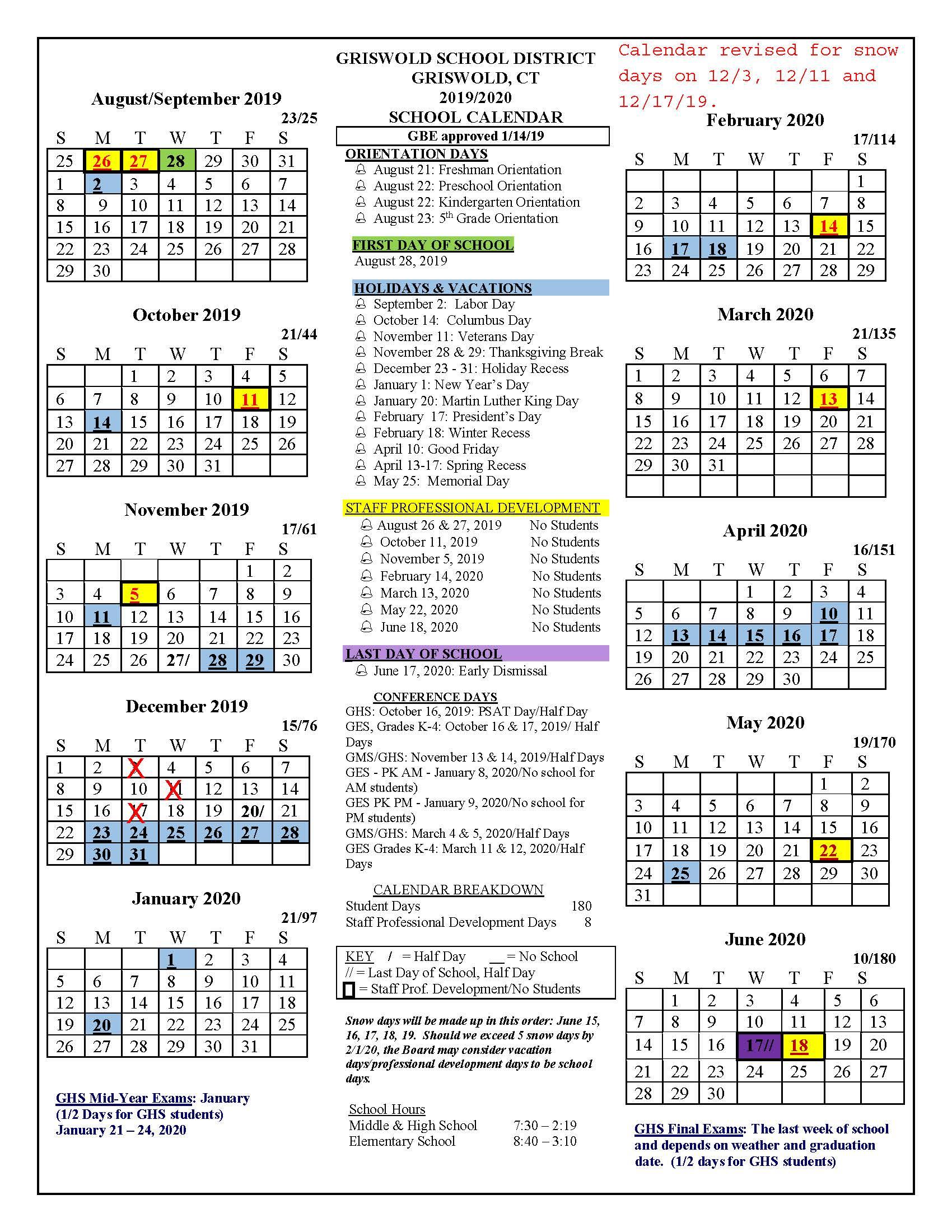 Univ Of Rhode Island School Calendar   Printable Calendar Intended For Gcu Academic Calendar Non Traditional 2020