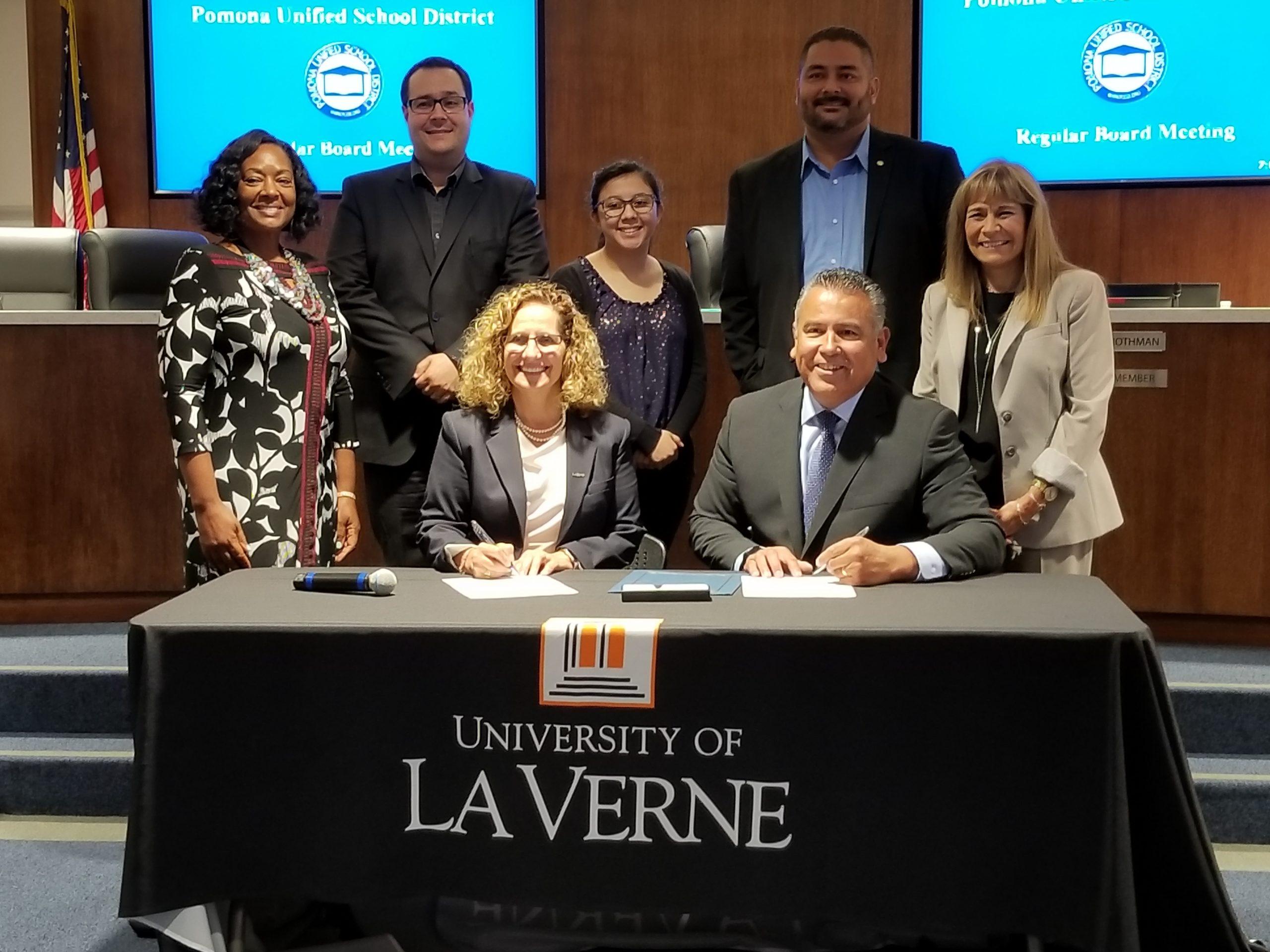 University Of La Verne, Pomona Unified To Partner On For Pomona Unified School District Calendar