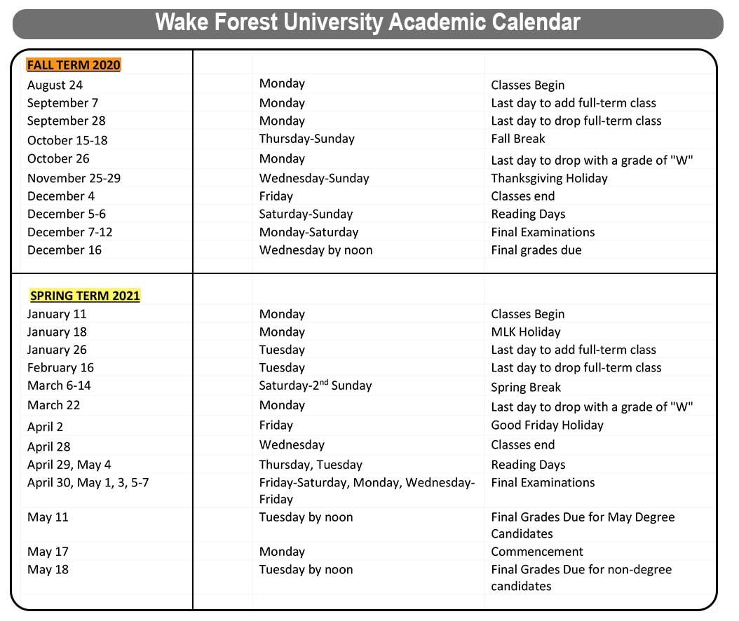 University Of West Georgia Academic Calendar   Printable Within Gcu Academic Calendar Non Traditional 2020