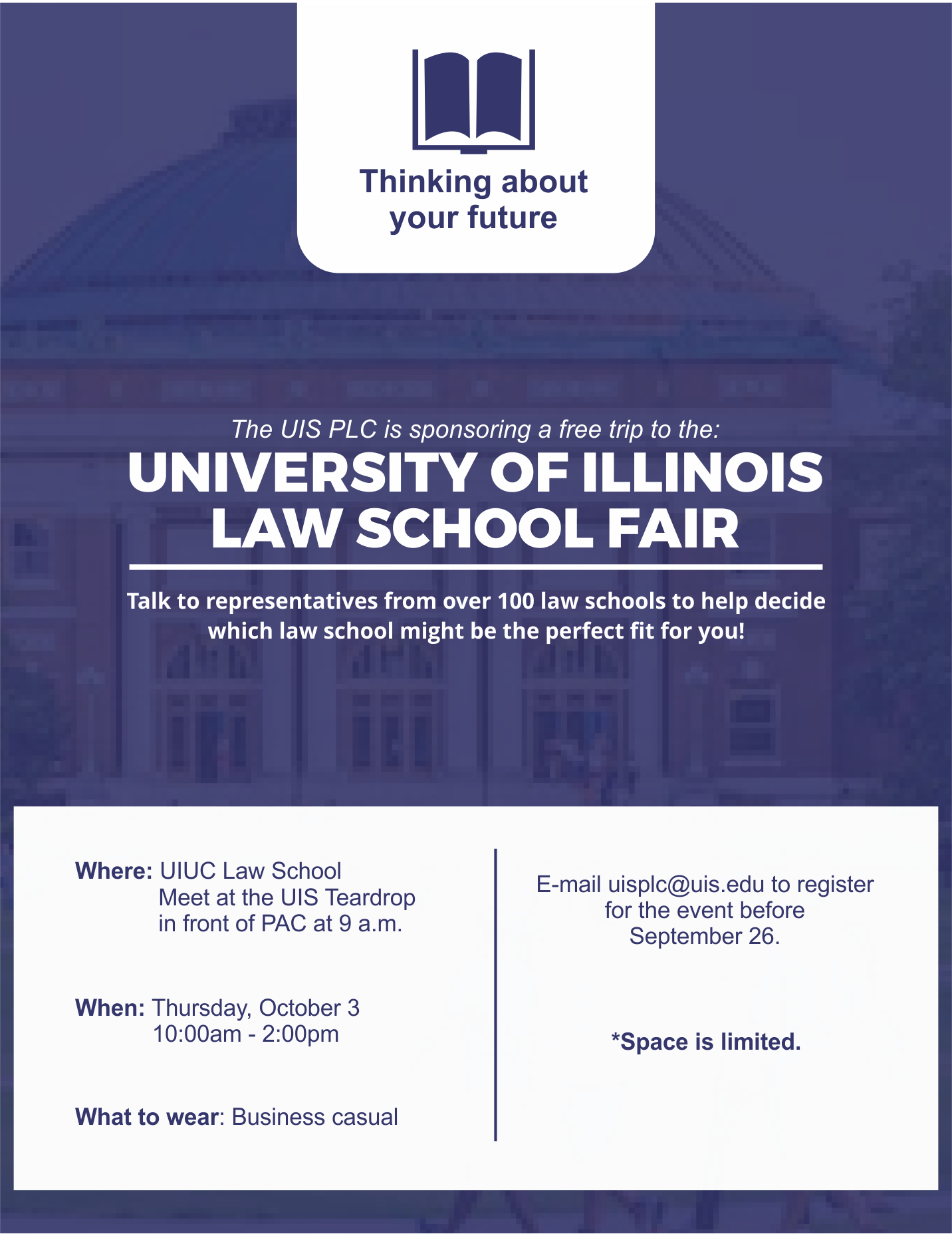 Upcoming Events – Pre Law Center – University Of Illinois For Springfield Il Calendar Of Events