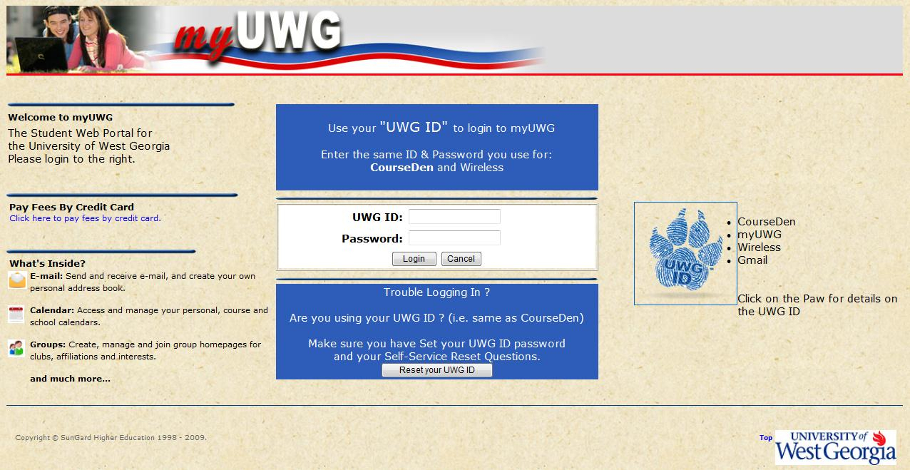 Uwg | Request A Transcript With University Of West Georgia Intended For Georgia State University Calendar