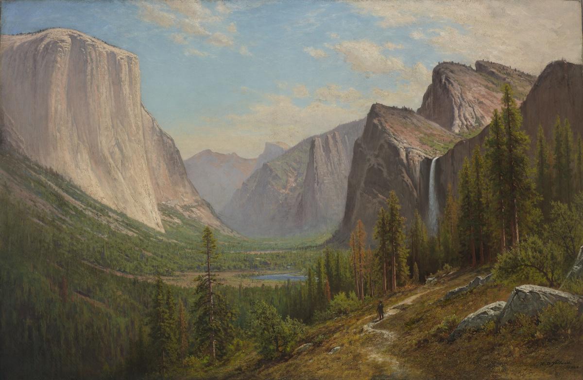 "Visiting Exhibition: ""Raymond Dabb Yelland: California In Oakland School For The Arts Calendar"