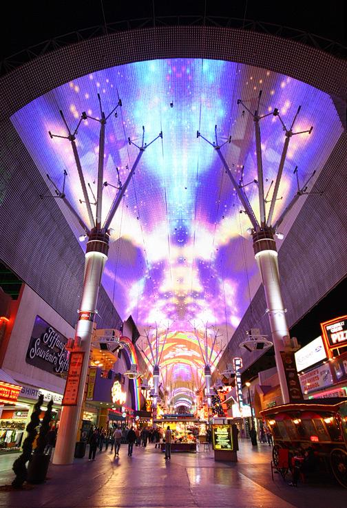 Viva Vision Light Show | Fremont Street Experience In Live Music Calender Las Vegas