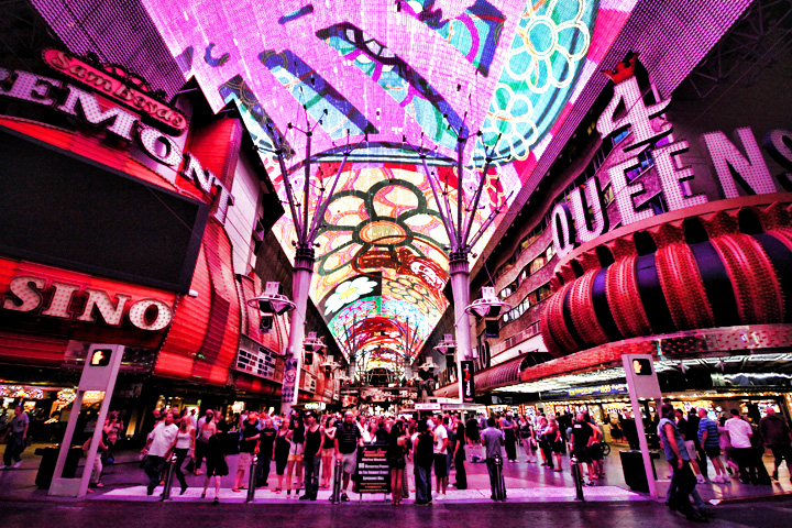 Viva Vision Light Show   Fremont Street Experience Regarding Las Vegas Live Music Calendar