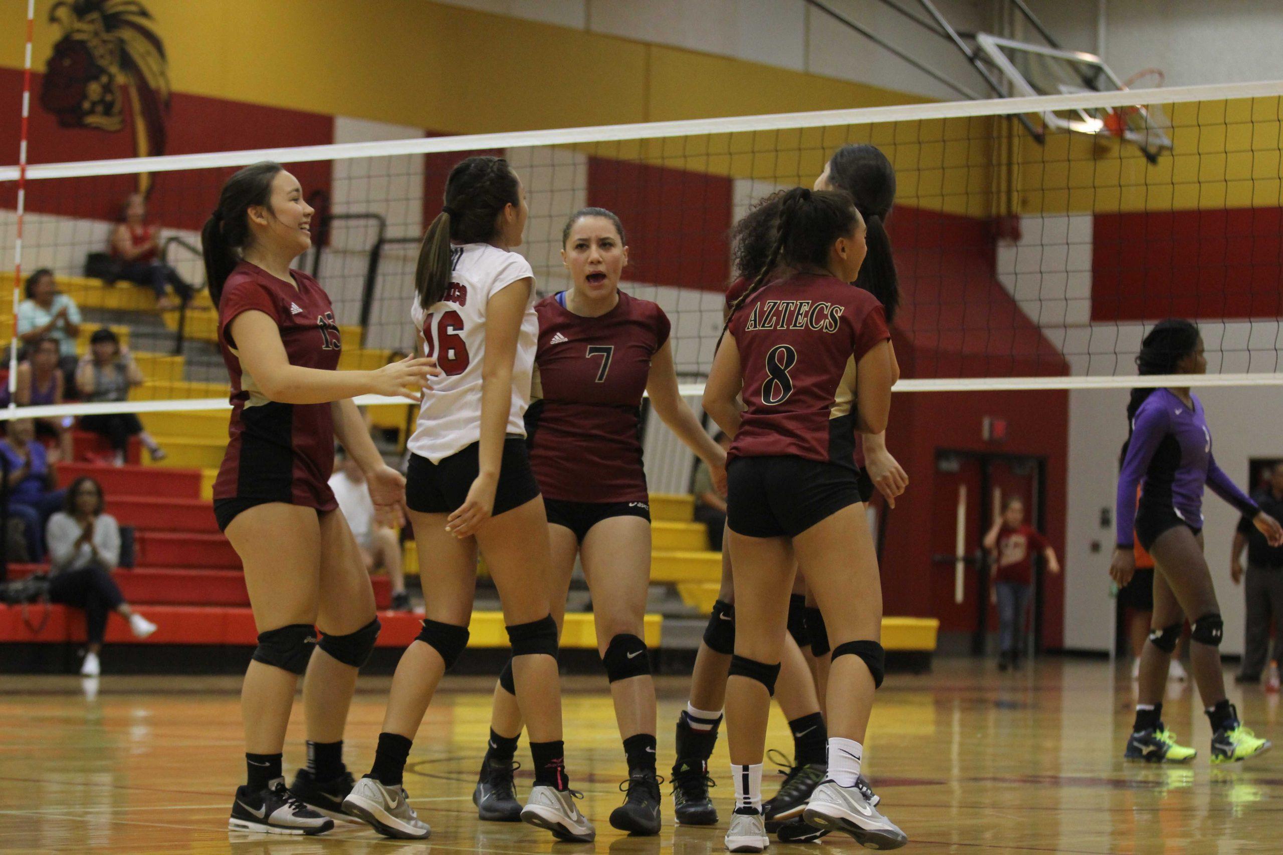 Volleyball – Aztec Gold Online Newspaper Pertaining To El Dorado Court Calendar