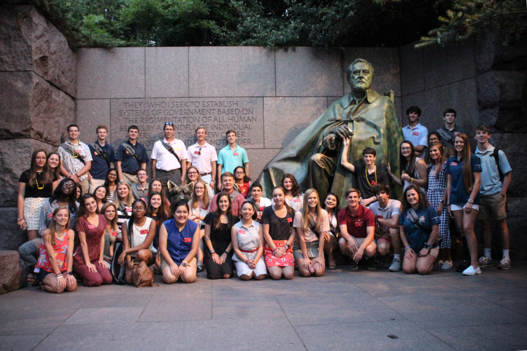 Washington Youth Tour Is The Trip Of A Lifetime   Emc With Regard To Fayette Co Ga School Holidays