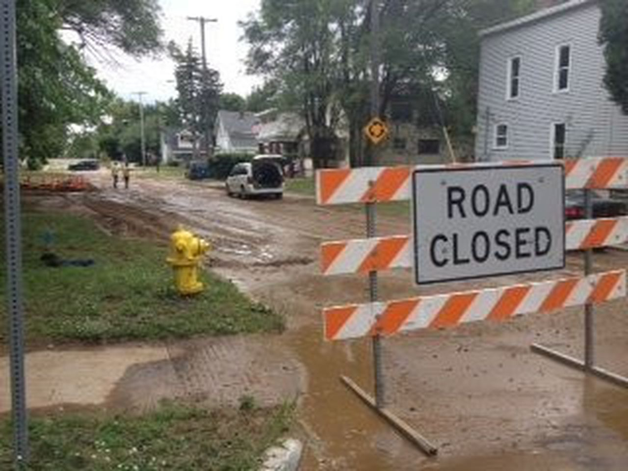 Water Main Break Could Take Several Hours To Fix For Grand Rapids Public School Spring Break