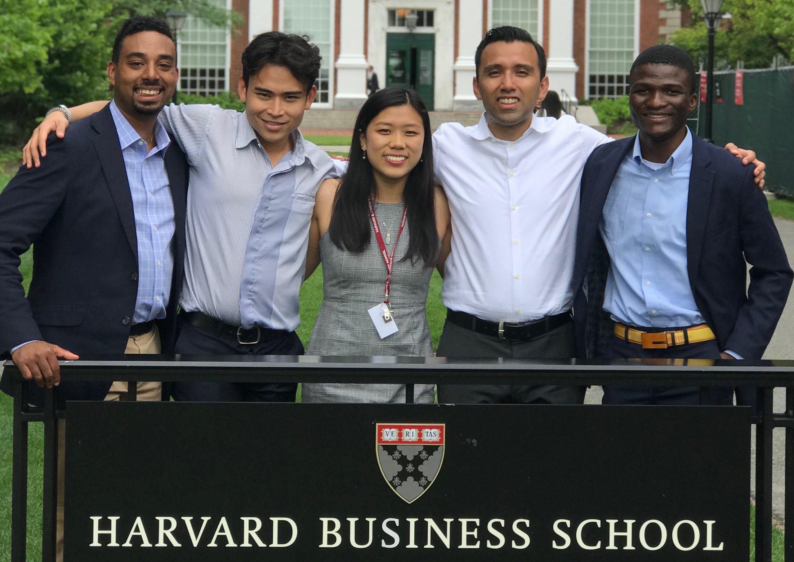 Zicklin School Of Business Students Participate In Harvard For Harbard Business School Individual Program Calender