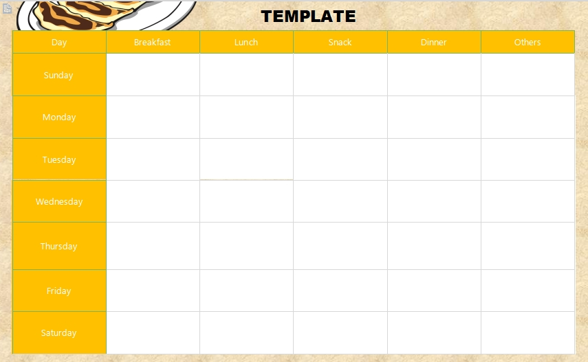 10+ 21 Day Fix Meal Plan Template | Template Business Psd Pertaining To Word Of The Day Template
