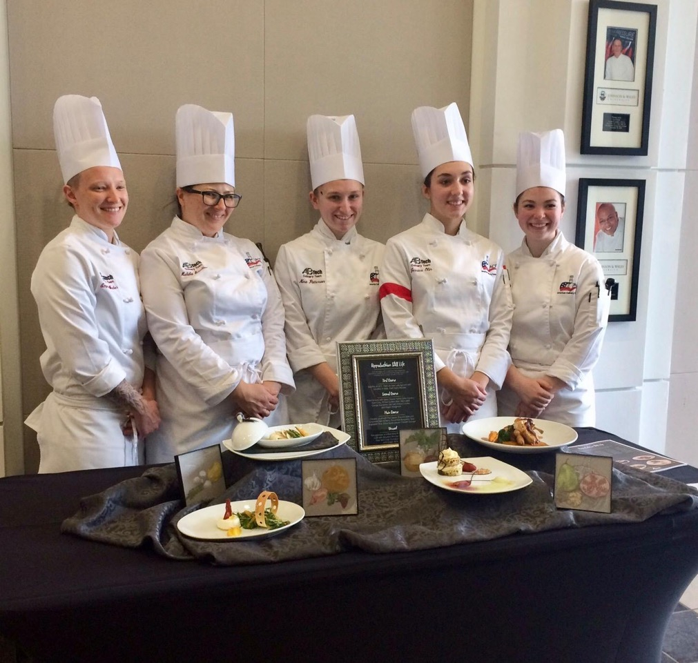 A B Tech Culinary Team Wins Regionals, Heads To Nationals Within Culinary Institute Of America School Calendar