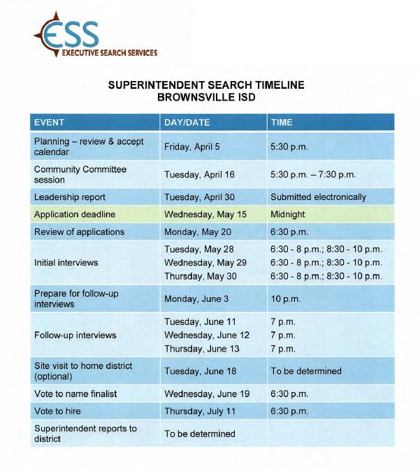 Brownville Isd Headlines: Superintendent Search Update: within Brownsville Independent School Calendar