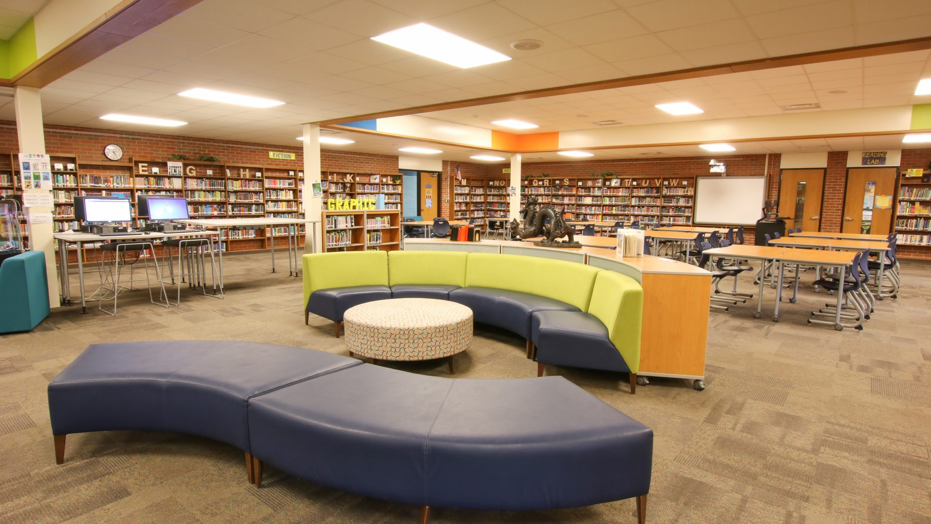Custer Projects | Grand Haven Public School Media Center In When Does Grand Haven School Start