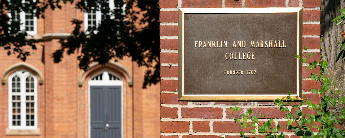 Franklin & Marshall – Inaugural Faculty Award Recipient Intended For Franklin And Marshall Academic Schedule
