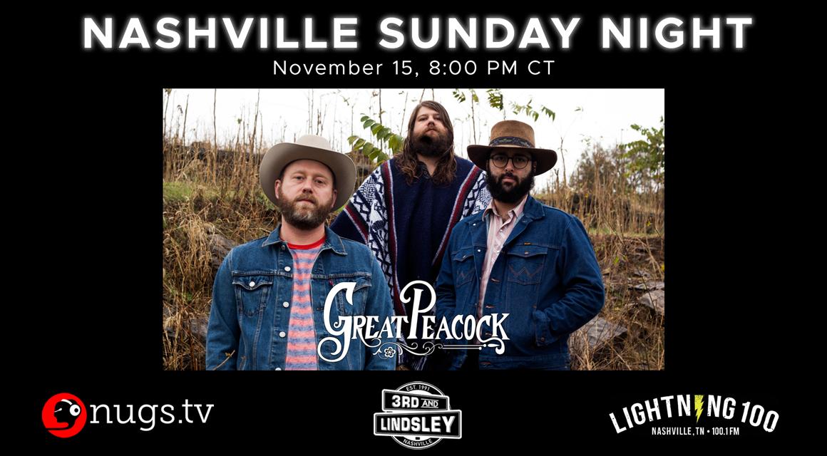 Great Peacock Livestream – Relix Media Inside 3Rd & Lindsley Nashville Calendar