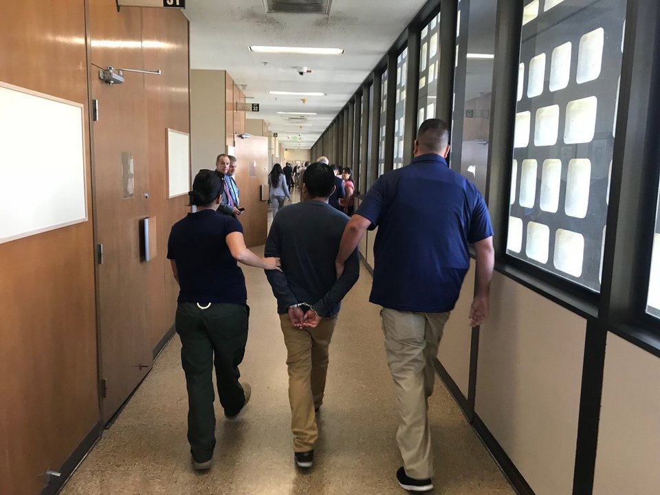 Ice Takes Next Step, Goes Inside Courtroom To Make An Within Placer County Court Calendar